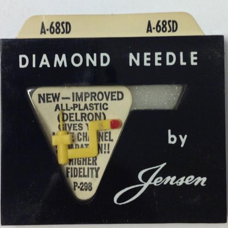 Jensen A-68SD Diamond Phonograph Needle Replacement