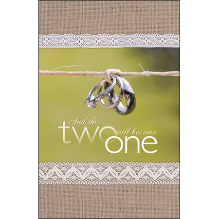 Bulletin-And The Two Will Become One (Wedding) (Pack Of 100)](Wedding Bulletins)