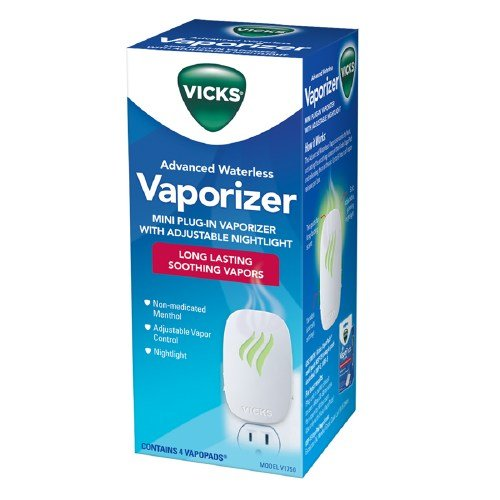 4 Pack Vicks Advanced Soothing Vapors Waterless Vaporizer Long Lasting Vapors by