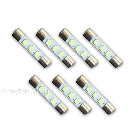 7 COOL BLUE Marantz LED Lamp Fuse-Type Light Bulbs - 7CB