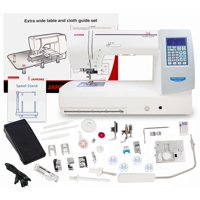 Janome Memory Craft Horizon 8200QCP Special Edition Sewing & Quilting Machine With Bonus Bundle