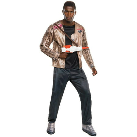 Star Wars The Force Awakens Deluxe Finn Men's Adult Halloween Costume, 1 Size - Find Halloween Costume