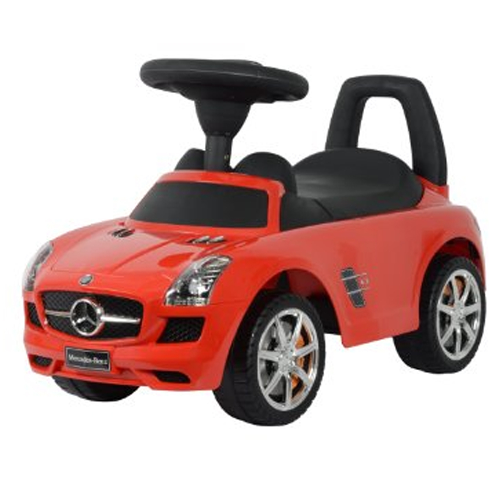 Licensed Mercedes Benz Kids Ride On Push Car - Red