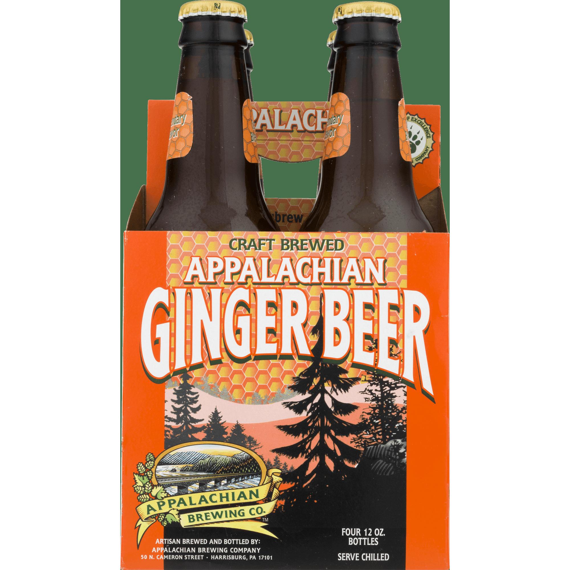 Appalachian Brewing Co Gluten Free Ginger Beer 12 Fl Oz 4 Count Walmart Com Walmart Com