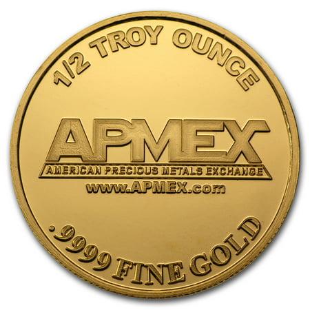 1/2 oz Gold Round - APMEX - Gold 1/2 Oz Tube