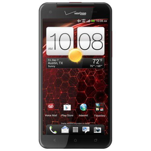 HTC Droid DNA 6435L Verizon Unlocked 4G LTE Quad-Core Android Phone w/ 8MP Camera - Black