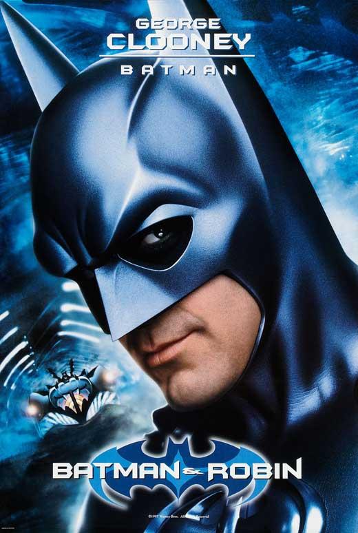 Batman /& Robin Theatrical Release 11x17 Movie Poster 1997