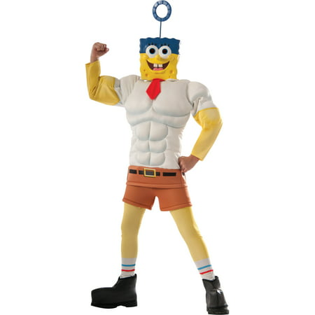 Child's Boys Spongebob Squarepants Sponge Out Of Water Invincibubble Costume](Spongebob Games Halloween)