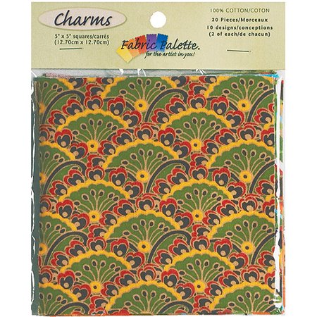 Fabric Palette Charm Pack, 5