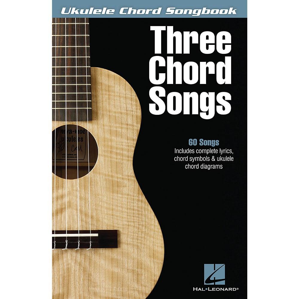 Hal Leonard Three Chord Songs Ukulele Chord Songbook Walmart