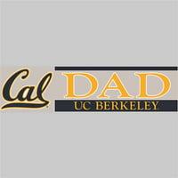 California Golden Bears Die Cut Decal Strip - Dad