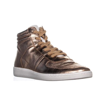Dolce Vita Nate High Top Sneakers, Rose Gold Leather - image 6 de 6