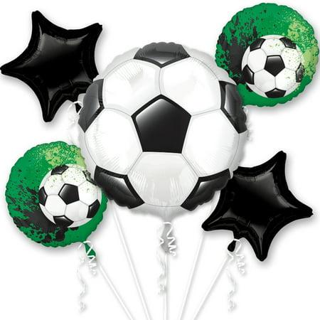 Soccer Balloon Bouquet - Soccer Pinata
