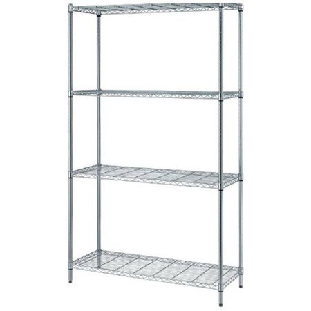 1 Box Wire Shelving Unit, 30 x 18 x 72 in. (Shelving Bin Unit)