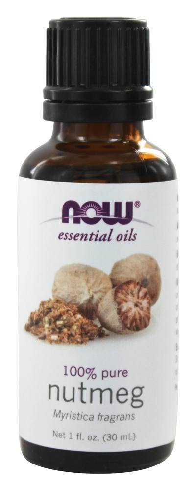 NOW Foods Nutmeg Oil Pure 1 oz. by NOW