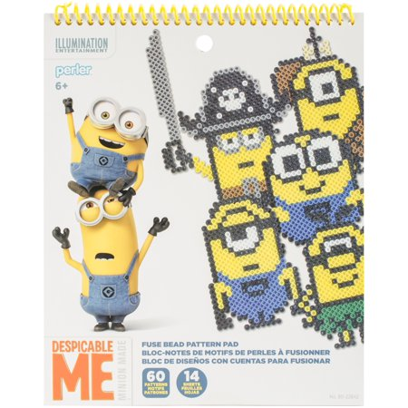Perler Despicable Me 3 Fused Bead Pattern Pad- - Beading Supplies Near Me