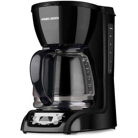 BLACK+DECKER 12-Cup Programmable Coffeemaker, DLX1050B
