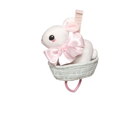 Best Manhattan Toy Lullaby Bunny Pull Musical Crib Baby Toy deal