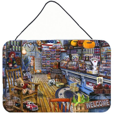 Caroline's Treasures Jenkinson's General Country Store by Tom Wood Graphic Art (Stores That Sale Toms)