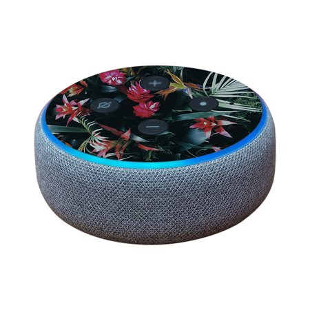 Echo Island (Skin For Amazon Echo Dot (3rd Gen) - Island Vibes | MightySkins Protective, Durable, and Unique Vinyl Decal wrap cover | Easy To Apply, Remove, and Change Styles)