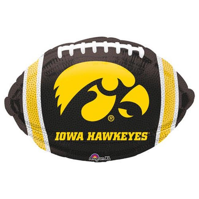 Anagram 75013 18 in. University of Iowa Football Balloon - Pack of 5 - image 1 of 1