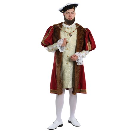 King Henry Costume for Plus Size Men