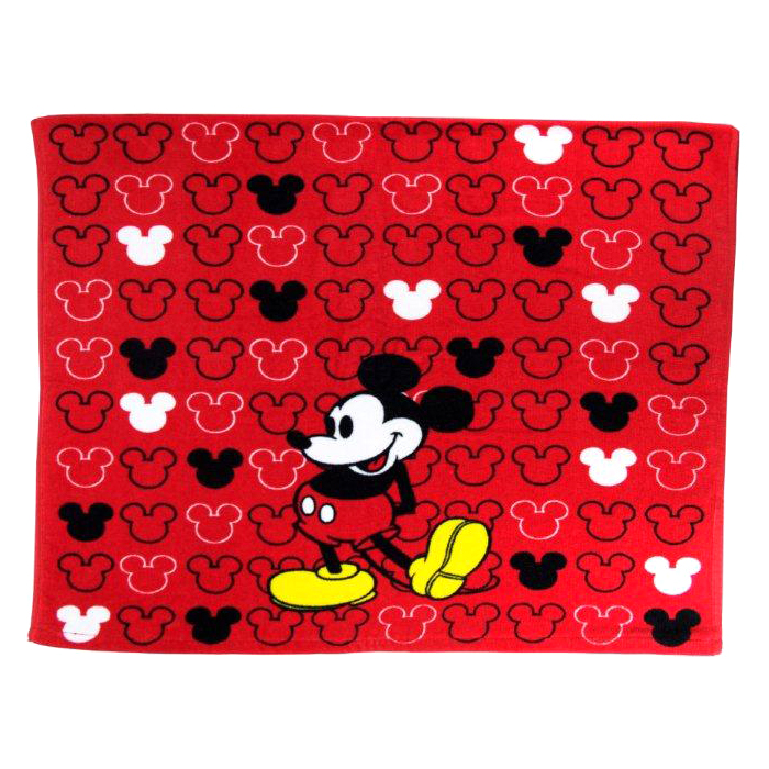 """Disney Mickey Mouse Cotton 26"""" x 15"""" Hand Towel, 1 Each"""