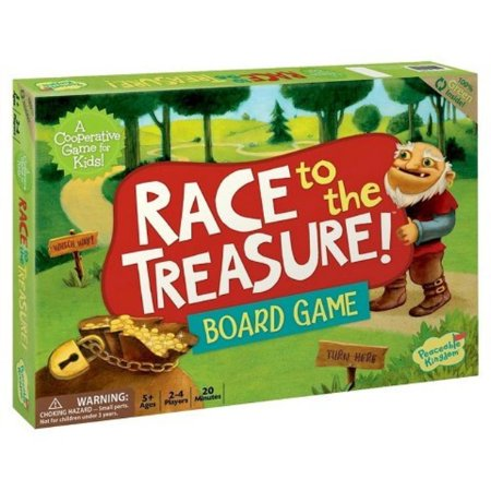 New Race to the Treasure Board Game](Treasure Game)