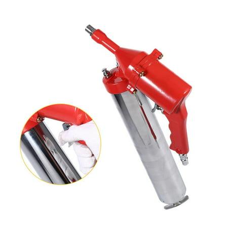 Ejoyous Manual One-Hand Pistol Grip Air Pneumatic Compressor Pump Grease Gun W/ Extension Set Home Tool, Air Grease Gun,Air Operated Grease Gun - image 7 of 8