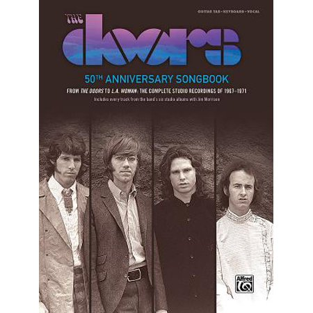 The Doors -- 50th Anniversary Songbook (Hardcover)