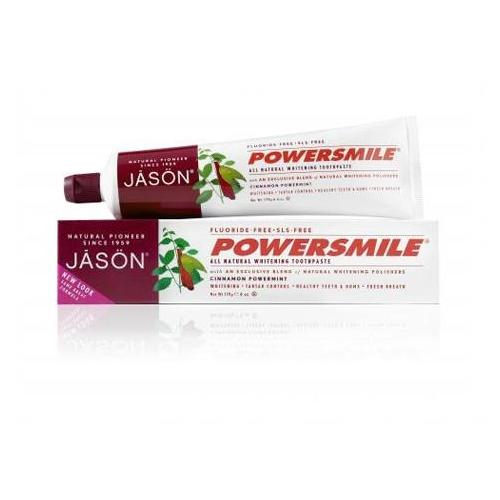 Powersmile Cinnamon Mint Toothpaste Jason Natural Cosmetics 6 oz Paste
