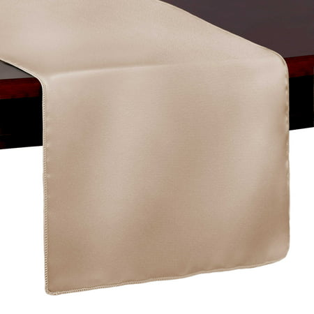Ceramic Red Apple - Ultimate Textile Bridal Satin 14 x 54-Inch Table Runner Duchess