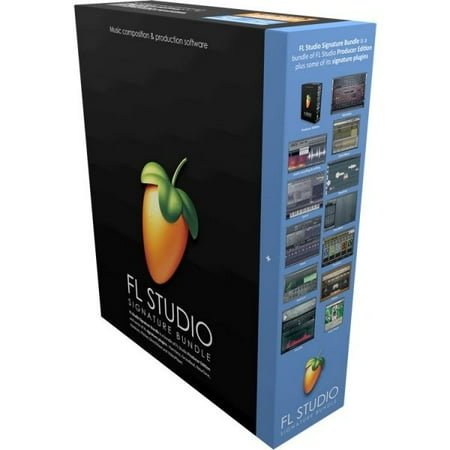 FL Studio 20 Signature Edition Audio Software Download Card for
