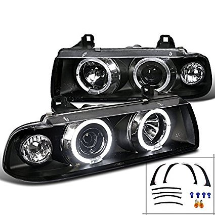 Spec-D Tuning LHP-E3621PCJM-TM Projector Headlight (96 Bmw Headlights)