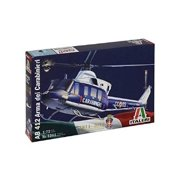 Italeri Models AB 412 Arma Dei Carabinieri Helicopter Model Building Kits Multi-Colored
