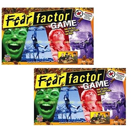 Fear Factor Game Gift Bundle Set of 2 Gift Bundle Ages 10+ - Halloween Fear Factor