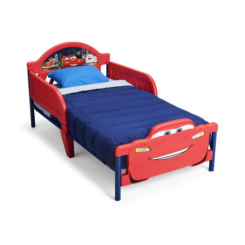 Delta Children Disney Cars 3D Convertible Toddler Bed