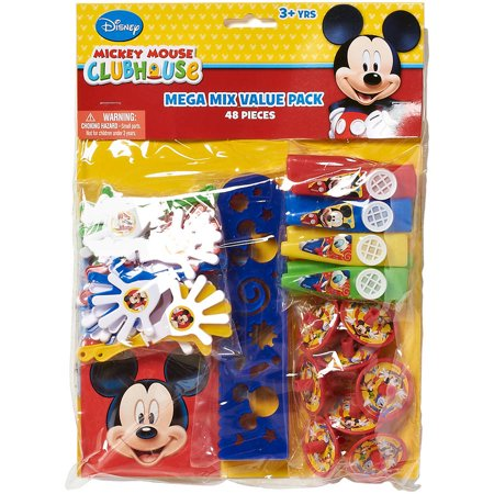 Mickey Mouse Clubhouse Party Favor Pack  Value Pack  Party Supplies