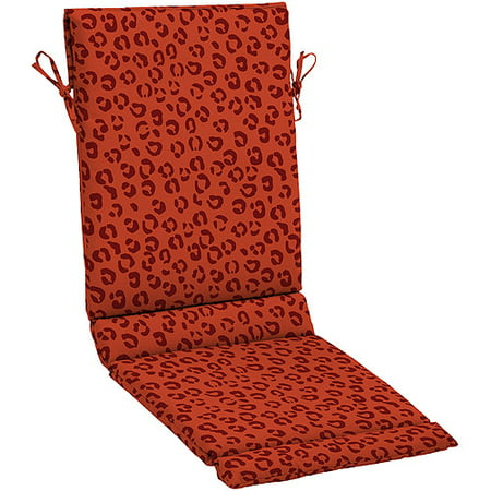 Hometrends Pattern Outdoor Dining Sling Chair Cushion Red