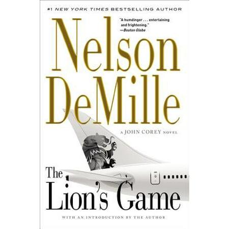 The Lion's Game (Nelson Demille John Corey Novels In Order)