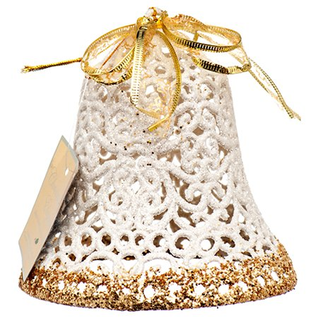 Ornaments In Bulk (New 378561  Hx Ornament Bell Glitter (36-Pack) Action Cheap Wholesale Discount Bulk Toys)