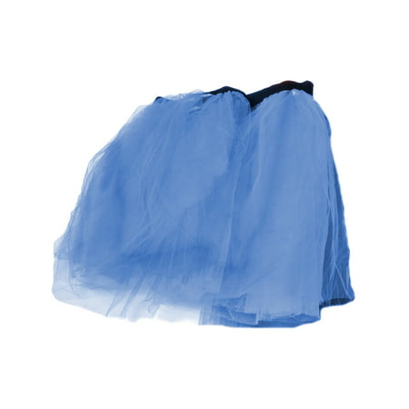 Blue Retro 80s Colorful Neon Assorted Color Tu Tu Tutu Skirt Costume Accessory - Accessories From The 80s