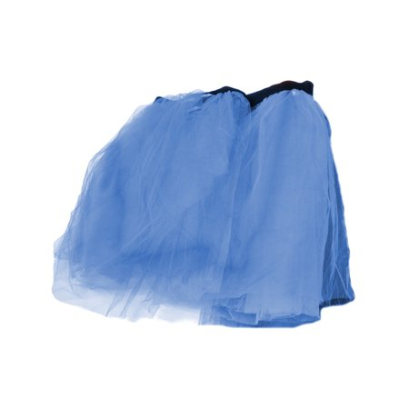 Blue Retro 80s Colorful Neon Assorted Color Tu Tu Tutu Skirt Costume Accessory - Blue Tutu Costumes