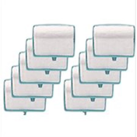 Baseboard Cleaning - 10 Refill Sponges White Sponge Coral