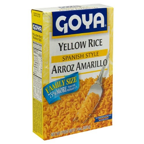 Goya Spanish Style Yellow Rice, 14 oz