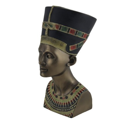 Ancient Egyptian Queen Nefertiti Bronze Finished Statue | Walmart Canada