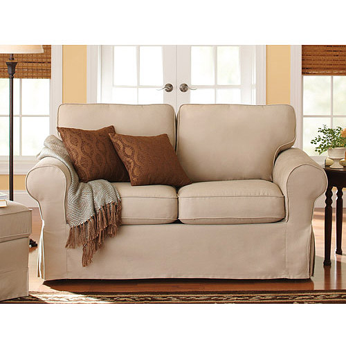 Better Homes and Gardens Slip Cover Loveseat, Multiple Colors