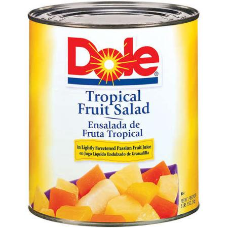 Dole Tropical Fruit Salad, 106 oz. Can
