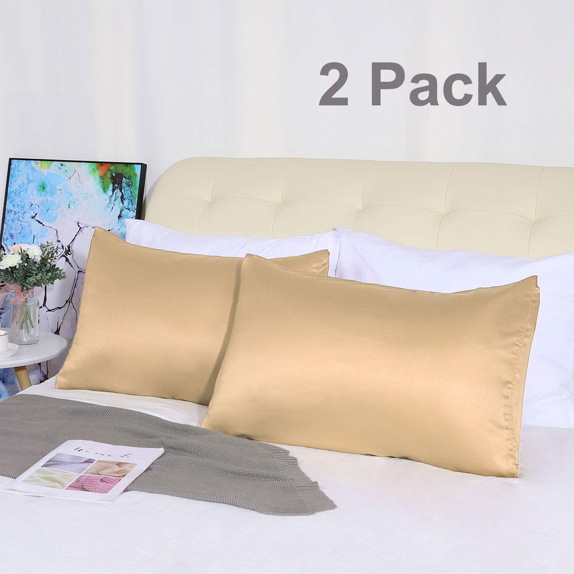 handmade birthday 20 x 30 christmas Black Satin Pillow Case
