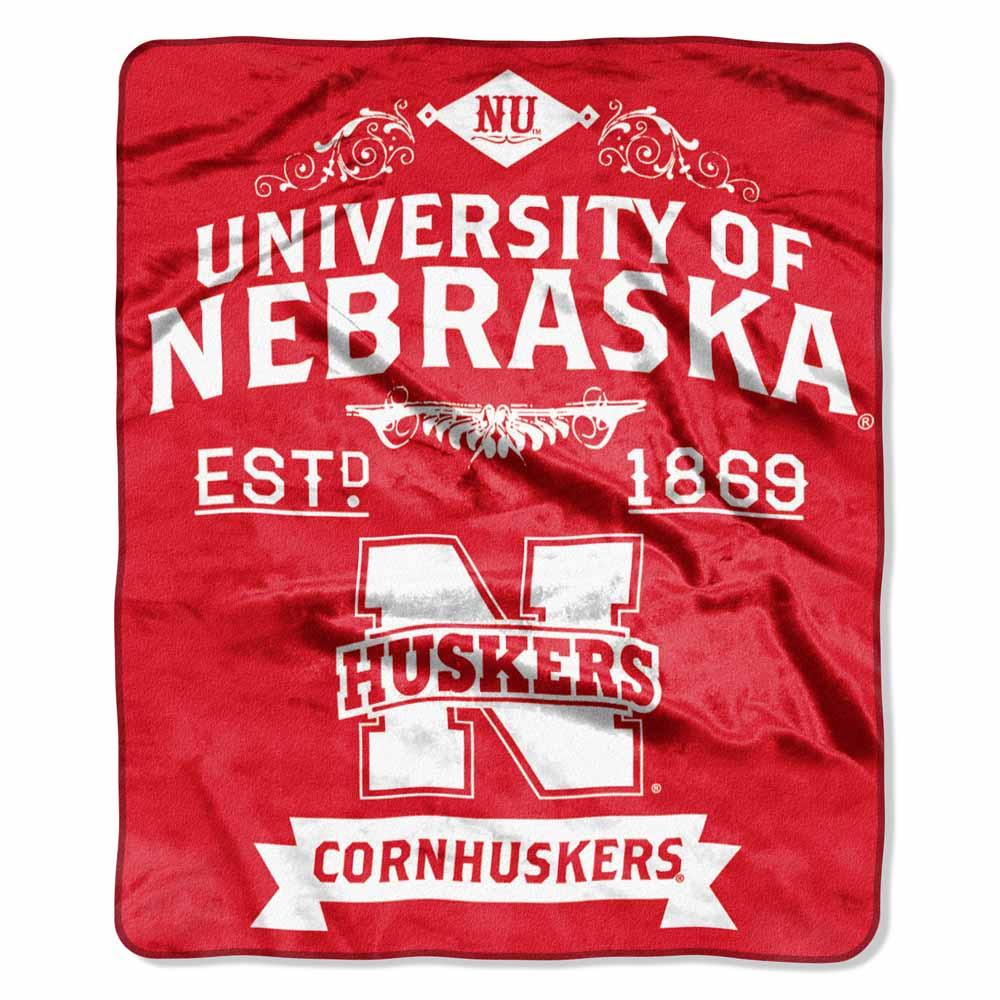 Nebraska Plush Blanket